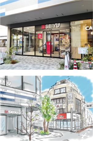 西友 東長崎店店舗画像