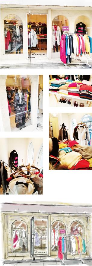 ブティック S・Y・M・R・K店舗画像